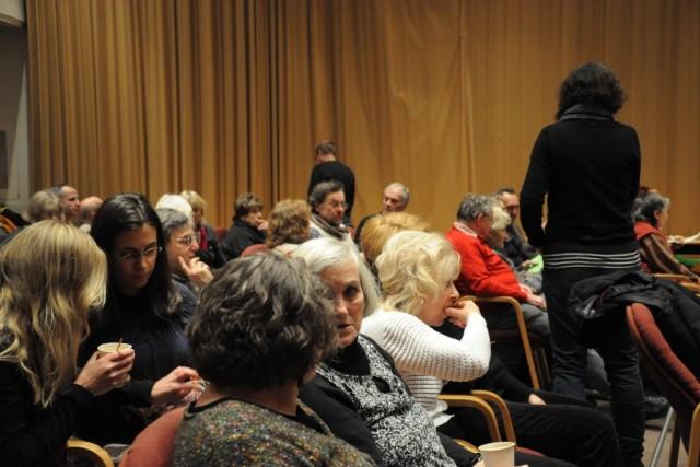 Bild zeigt das Publikum