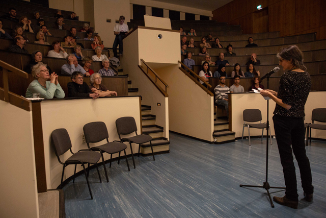 Bild zeigt das Auditorium im Alten Hörsaal des Moabiter Krankenhauses