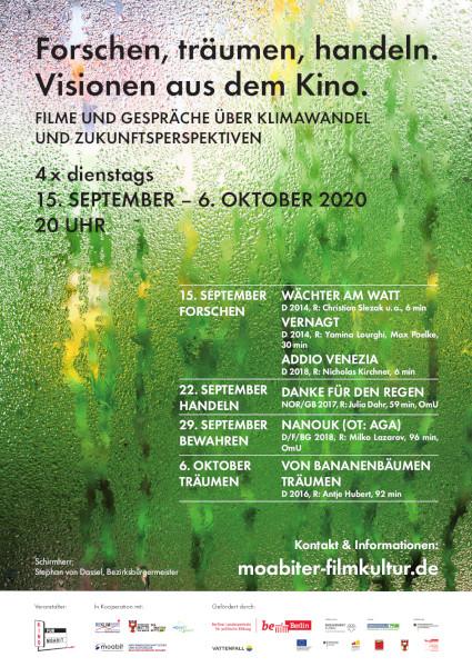 "Plakat ""Visionen aus dem Kino"""