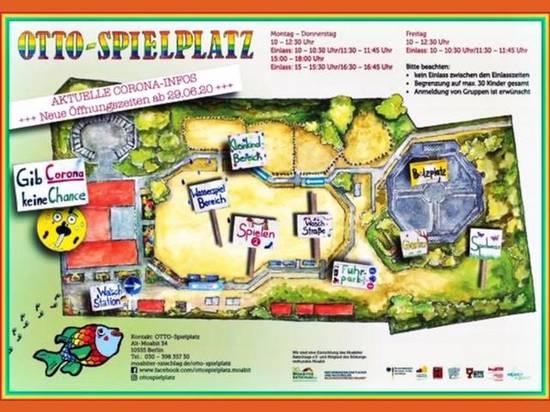 Lageplan Ottospielplatz